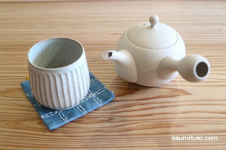 ランチに+300円で「ほうじ茶」をセットできます