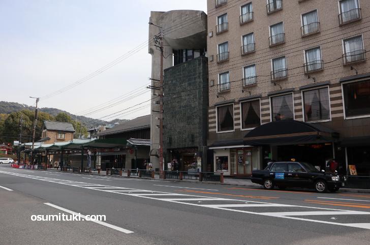 祇園も観光客がほぼいません(2020年3月13日撮影)