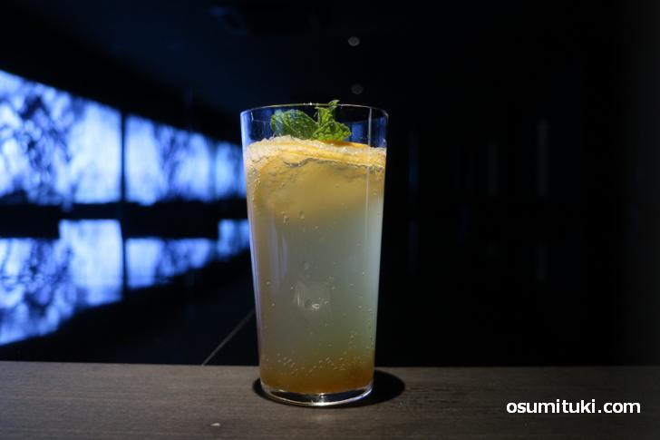 めちゃくちゃ美味い 檸檬と柚子の自家発酵ジュース(600円)