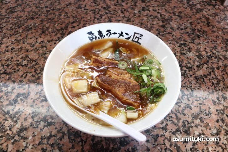角煮ラーメン(900円)