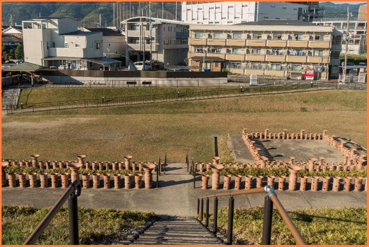 恵解山古墳は京都府長岡京市にあります