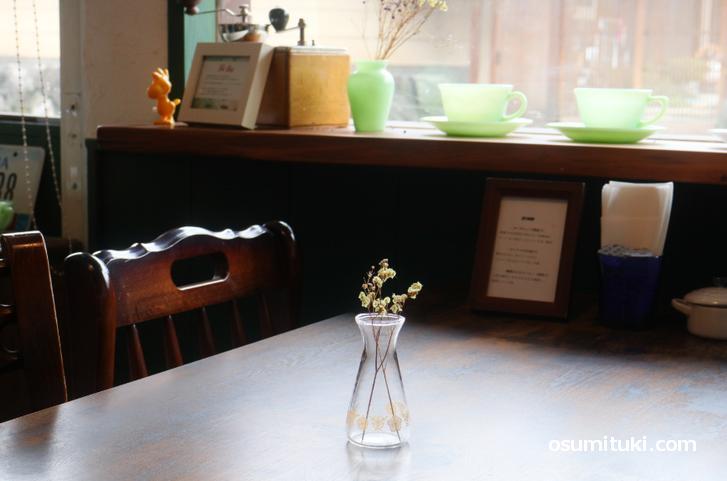オールディーズなアメリカンスタイルのカフェです