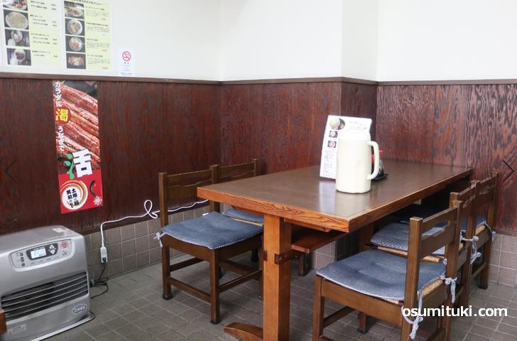 京都の昔ながらの大衆食堂です