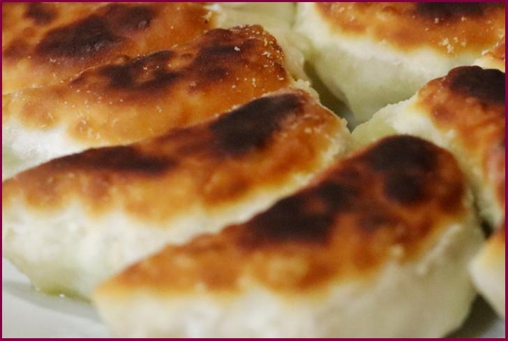 ギョウザそっくりなパンが珍百景で紹介