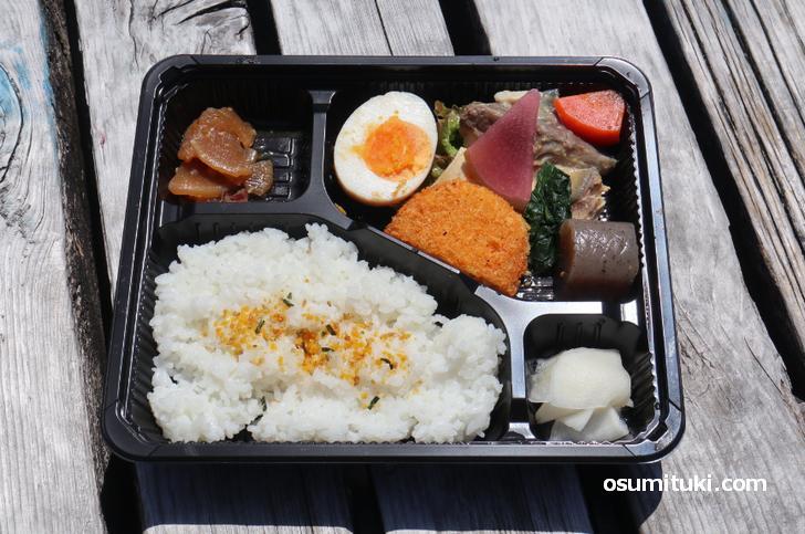 京都・木屋町で買える激安お弁当「笑顔弁当」