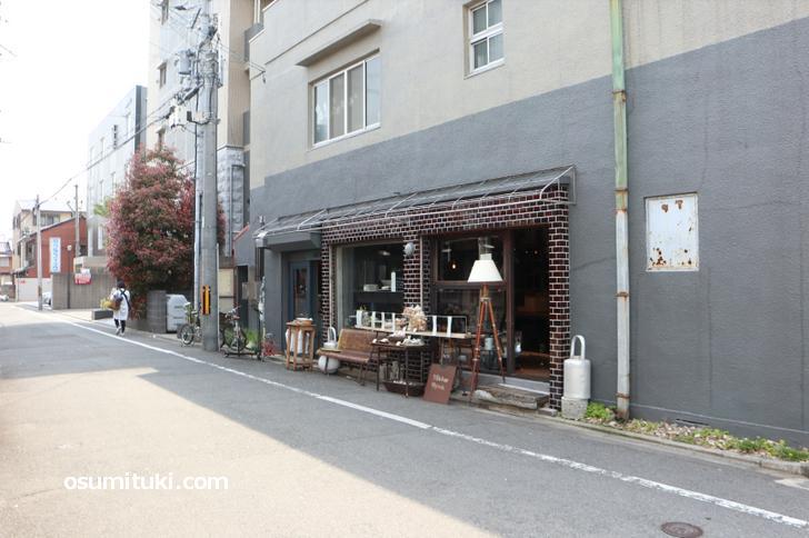Maker kyoto は西院駅から徒歩3分くらいの場所にあります