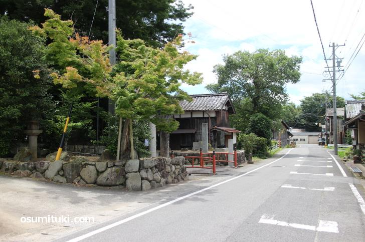 今週の人生の楽園の舞台は三重県伊賀市「平田宿」です