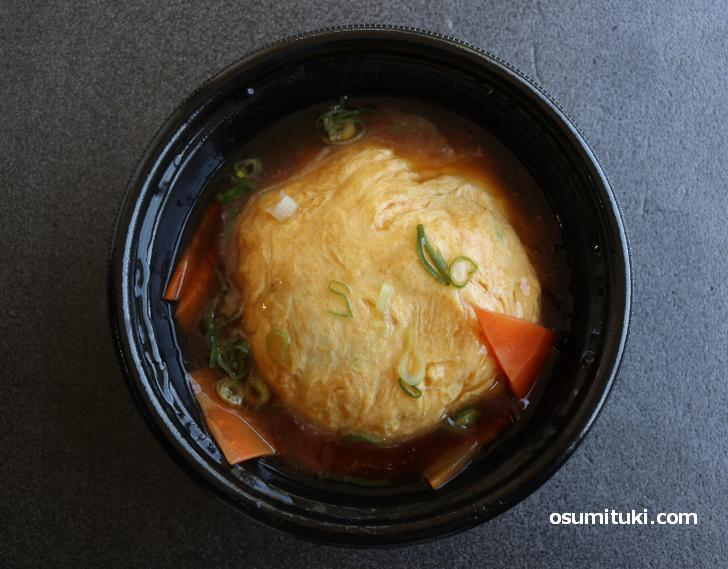 天津飯もかなり美味しい!