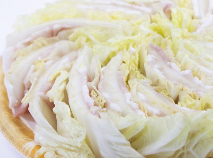 生肉の漬物(肉漬け)の作り方は白菜と肉を塩漬けにするです