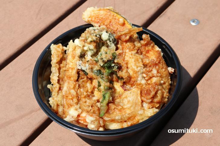 山元麺蔵「晴れの日、天丼。」テークアウト
