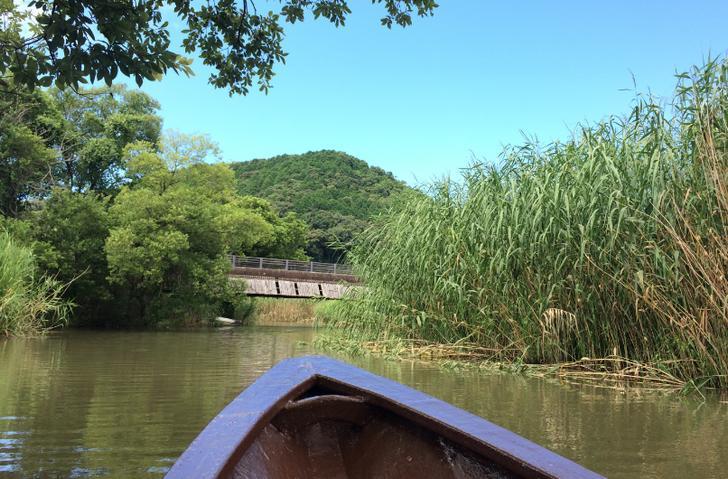 滋賀県近江八幡市「水郷巡り」船頭 田頭政泰さんが『人生の楽園』で紹介