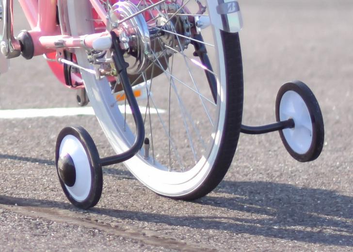 関西人が使う方言「コマあり・コマなし」は自転車の補助輪のこと