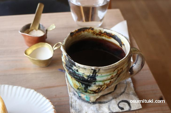 「ウィークエンダーズコーヒー」の焙煎豆で淹れたコーヒー