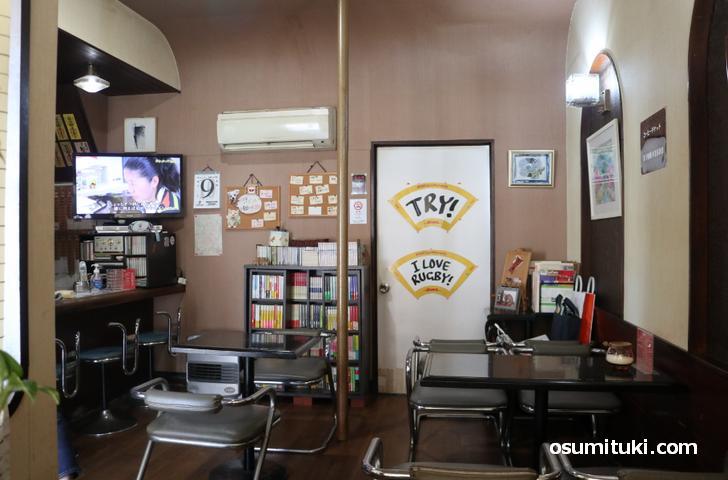 昭和の味わいが残る喫茶店