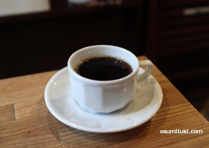 ホットコーヒーもあります