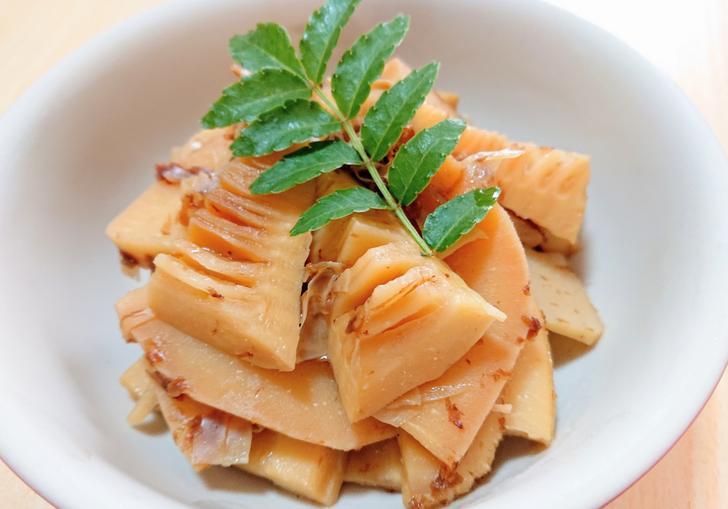 タケノコの炊いたん=タケノコの煮物 のこと