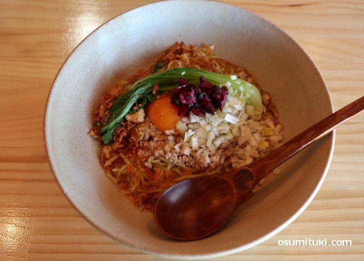 汁なし担々麺(850円)