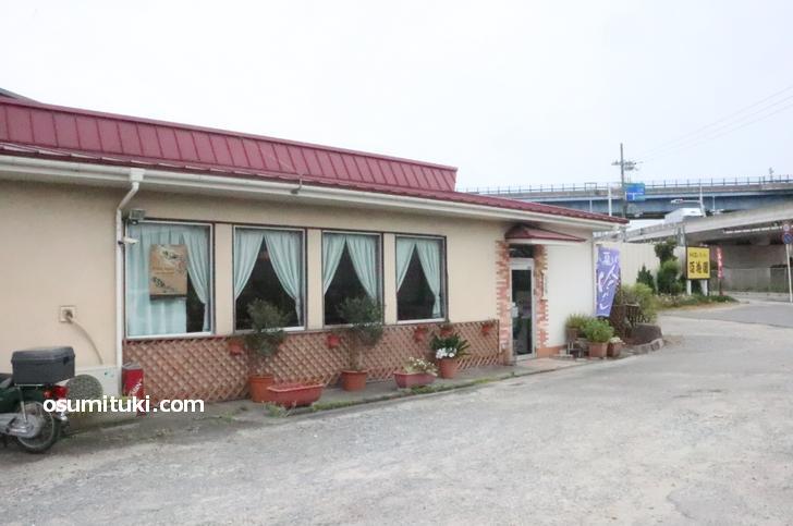 ファミリーレストラン百花園(外観写真)