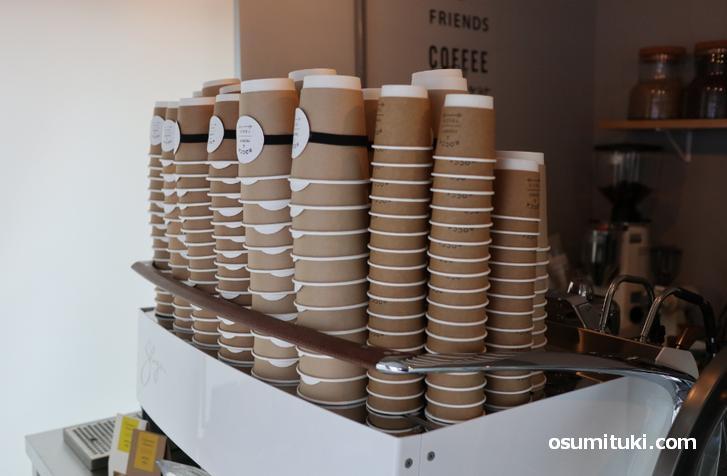 ケーキやコーヒーのテークアウト専門店です