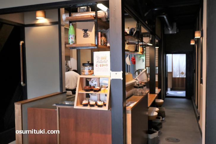 元はゲストハウスだった京町家のカフェ
