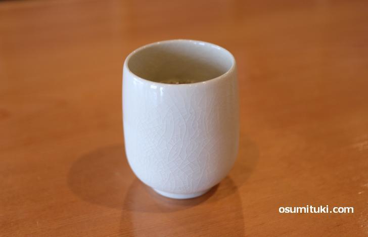 厳選した日本茶がメニューに含まれる
