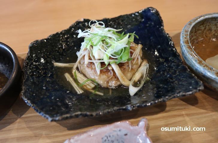お料理は和食です