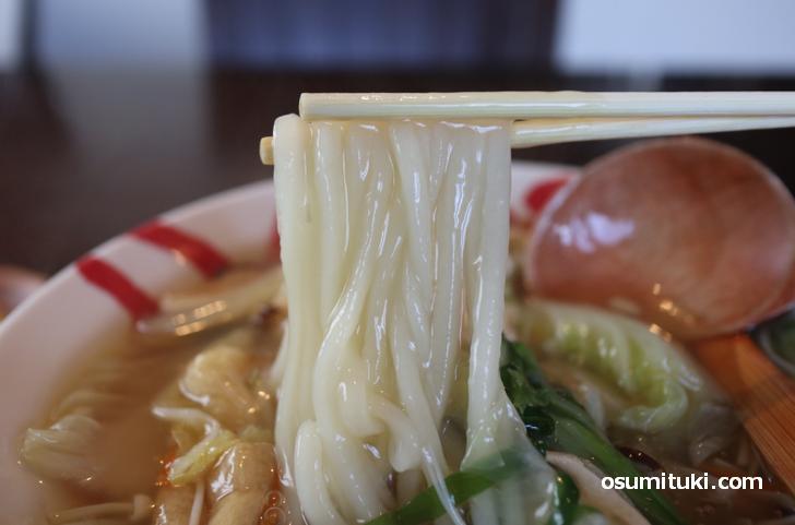 手打饂飩十兵衛、手打ちの自家製麺