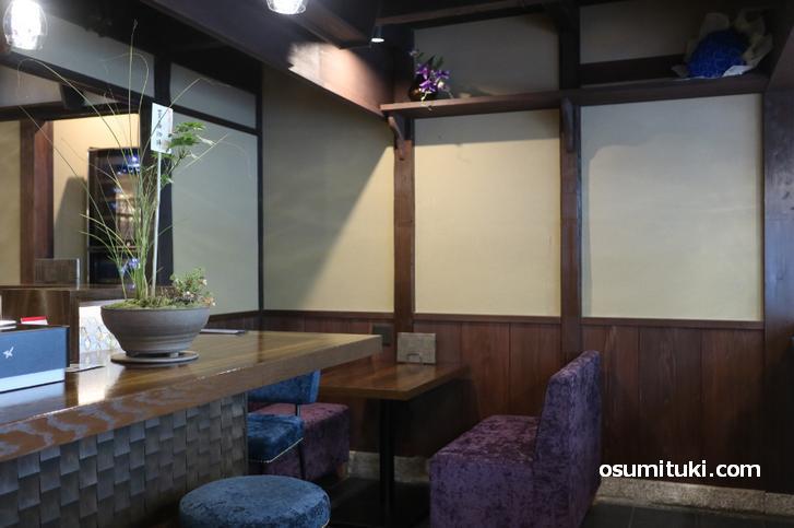 京町家の雰囲気に和モダンが融合したカフェです
