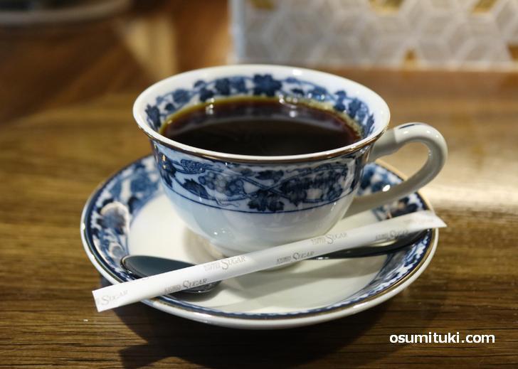 飲み口の良いコーヒーは550円