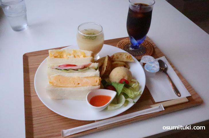 ランチのサンドイッチ(ドリンク別)