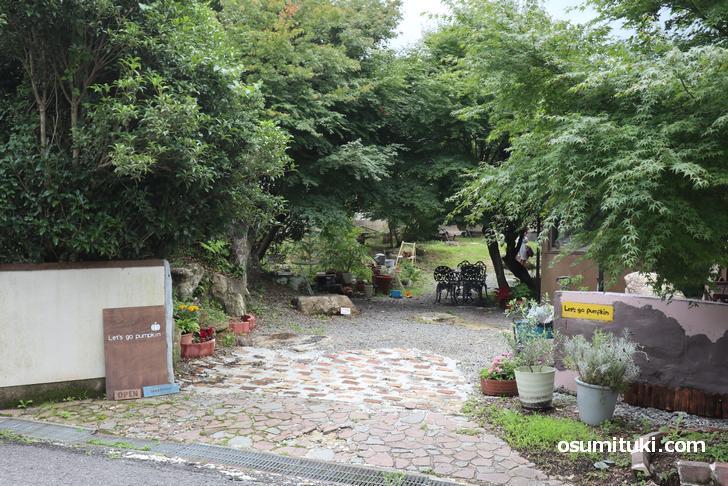 京都の身近な場所にある秘境カフェ「Let's go pumpkin」