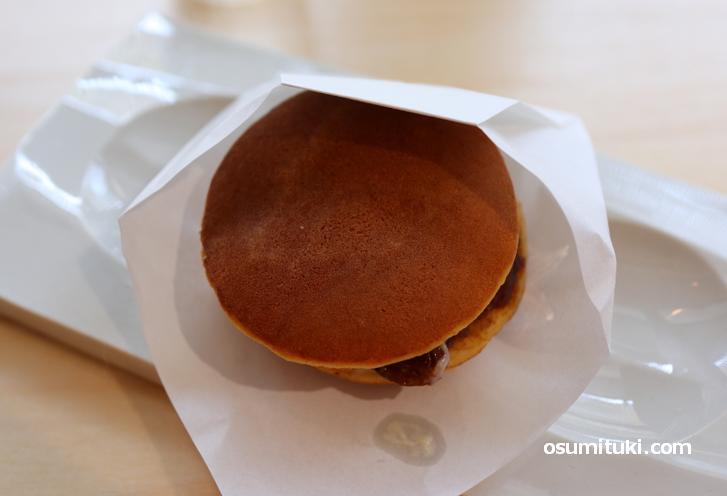 どら焼き(レーズンバター+あずき)250円