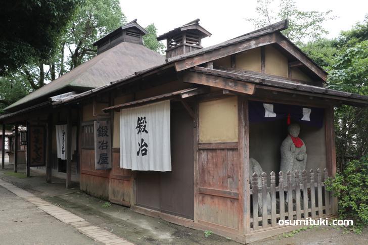江戸時代のお店のセットが多いです