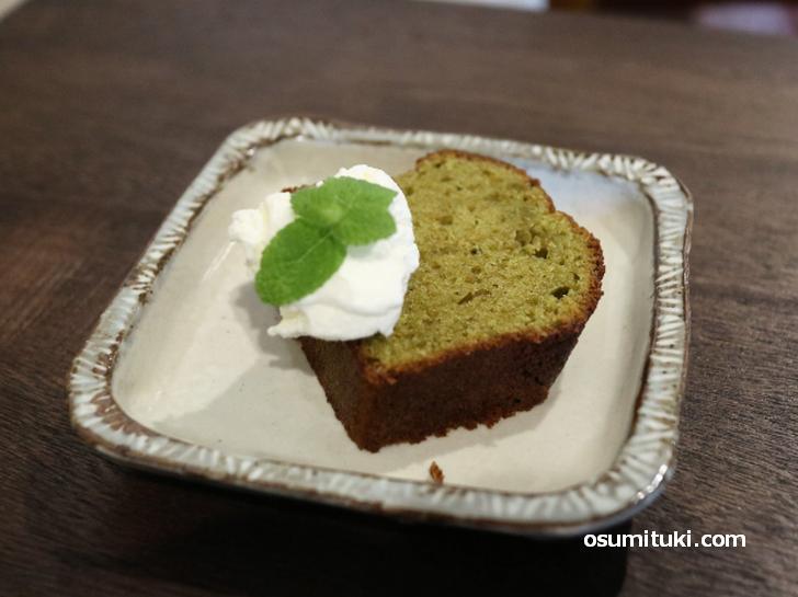 キセツノネイロのパウンドケーキ
