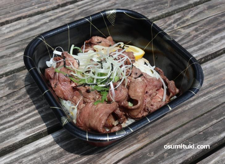 お肉も良いものなので美味しい牛タン丼なのです