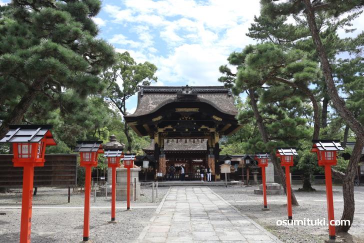 京都の豊国神社(とよくにじんじゃ)