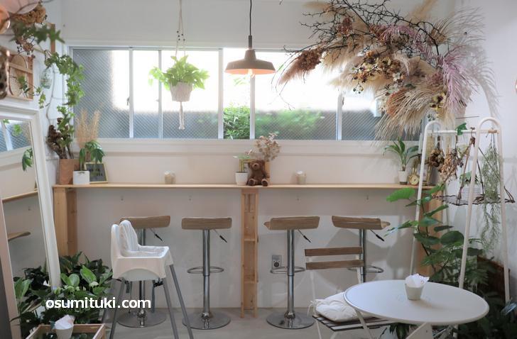 2020年8月10日オープン cafe ioa (京都カフェ、千本今出川)