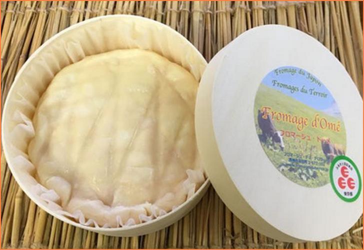 青梅のチーズ「フロマージュ・ドーメ」が人生の楽園で紹介