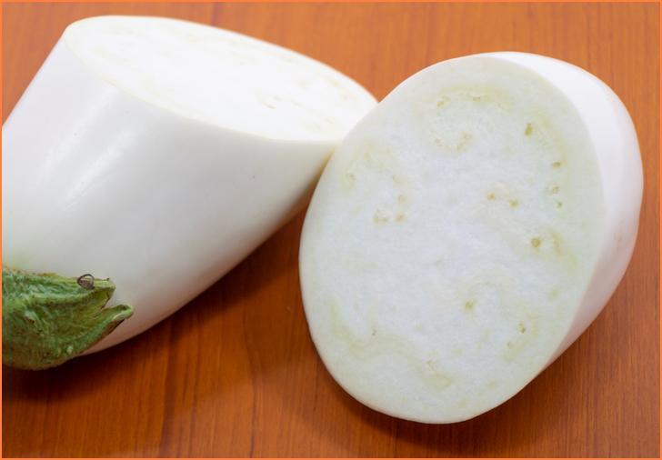 果肉は密度が高いのに柔らかいというナスの完成形のようなナスが「トルコナス」