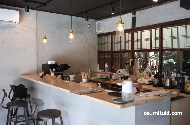 明治45年からある築110年の大屋敷に併設されているカフェ(Chou Chou Cafe)