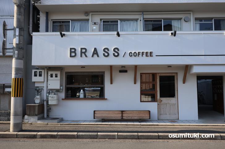 BRASS / COFFEE(店舗外観写真)