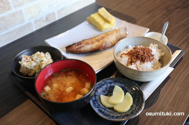 日替わり定食(当日はホッケ)700円