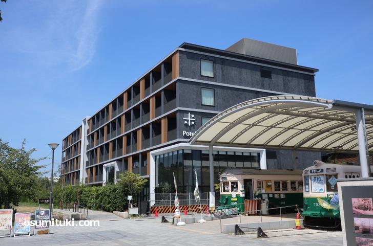 梅小路ポテル京都が梅小路公園のど真ん中で開業