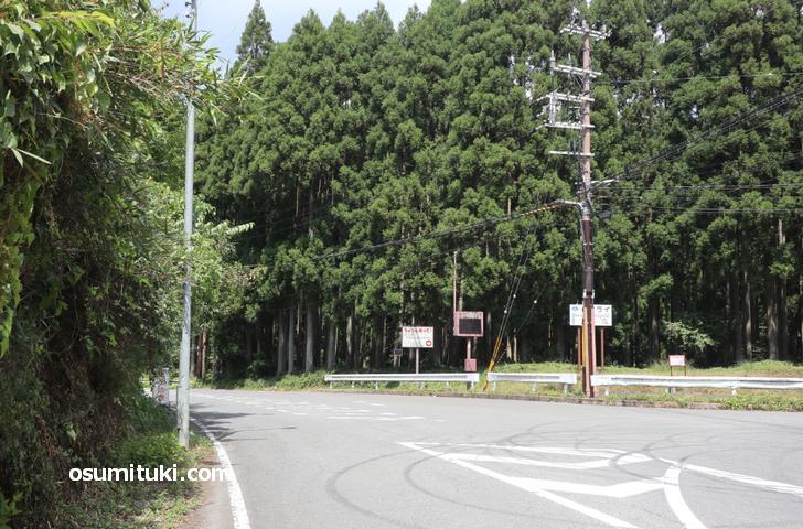 雲ケ畑への道(京都府道61号)が通行制限解除になりました