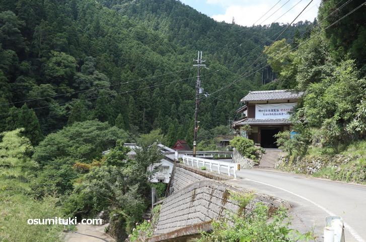 中津川町の集落