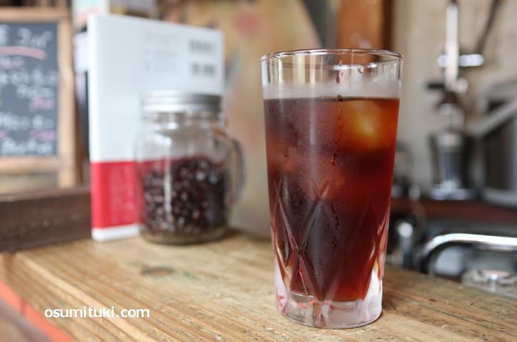 喫茶コバの水出しコーヒー(300円)
