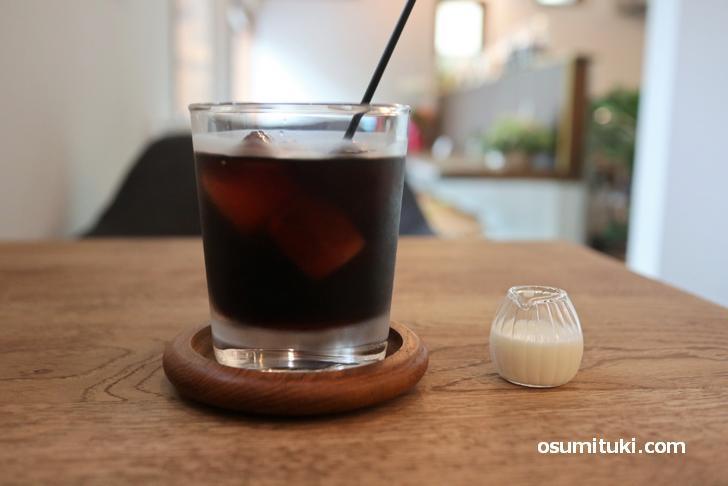 ブレンドコーヒー(アイス)400円