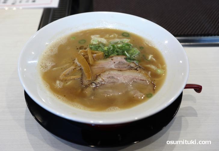 G麺のラーメン(750円)
