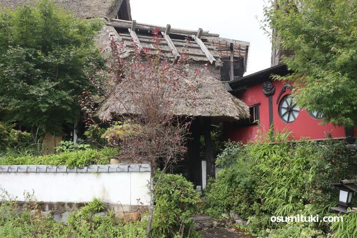 京都府南丹市美山町にある「古民家カフェ旬季庵」