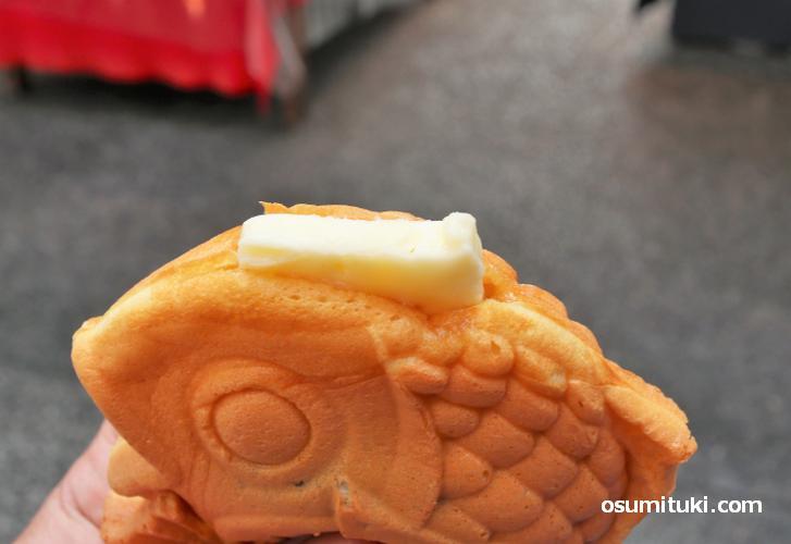 結構なおいしさでバターがサイコーです!
